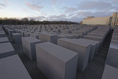 Holocaust memorial, Berlin royalty free stock photos