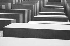 Holocaust Memorial in Berlin Royalty Free Stock Images