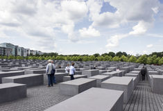 Holocaust memorial Berlin. The Memorial to the Murdered Jews of Europe (German: Denkmal für die ermordeten Juden Europas), also known as the Holocaust Memorial Stock Photography