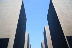 Holocaust Memorial in Berlin Royalty Free Stock Photo