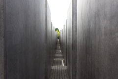 Holocaust memorial Berlin Stock Photo