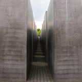 Holocaust Memorial in Berlin Stock Images