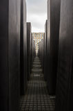 Holocaust Memorial in Berlin Stock Photography
