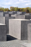 Holocaust Memorial Blocks in Berlin, Germany Stock Photo
