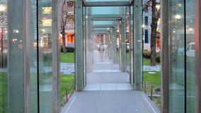 Holocaust Memorial, Boston, USA, stock video footage