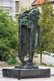 Holocaust Memorial in Bratislava, Slovakia Royalty Free Stock Photos