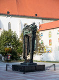 Holocaust Memorial in Bratislava, Slovakia Stock Images