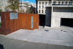 Holocaust memorial bucharest royalty free stock photo