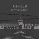 Holocaust Memorial Day Royalty Free Stock Images