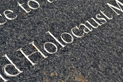 Holocaust memorial, Stock Image