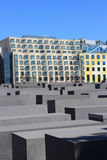 Holocaust Memorial (German: Holocaust-Mahnmal) Royalty Free Stock Photography