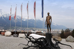 Holocaust Memorial in Innsbruck Stock Photo