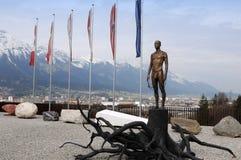 Holocaust Memorial in Innsbruck Stock Photo