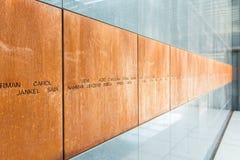 The Holocaust Memorial Room Stock Photos