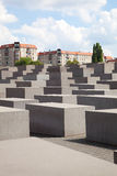 The holocaust memorial site in Berlin Stock Photo