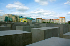 Holocaust memorial Royalty Free Stock Photography