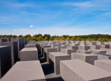 Holocaust monument in Berlin royalty free stock image