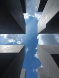 The Holocaust monument in Berlin Royalty Free Stock Photography