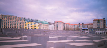 Holocaust monument in Berlin, Germany Stock Images