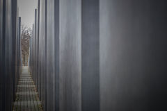 Holocaust monument in Berlin, Germany Royalty Free Stock Image