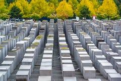 Holocaust Monuments Stock Photo