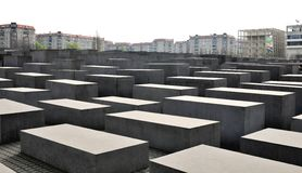 Holocaust museum in Berlin, Germany Royalty Free Stock Image