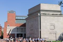 The Holocaust Museum Washington DC Stock Images