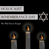 Holocaust Remembrance Day Royalty Free Stock Image