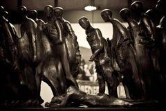 Holocaust Sculpture Stock Photos