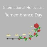Holocaust Survivor Remembrance Day Stock Images