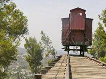 Holocaust train at Yad Vashem in Jerusalem Royalty Free Stock Image