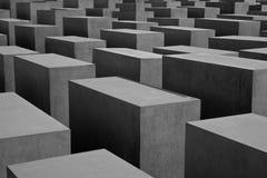 Holocaustdenkmal Stockfotos