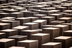 Holocaustdenkmal Stockbild
