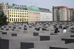 Holocaustdenkmal, Berlin Stockfotos