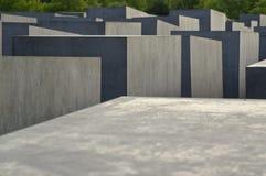 Am Holocaustdenkmal Berlin Lizenzfreie Stockfotografie
