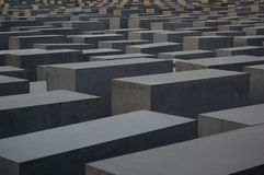 Holocaustdenkmal, Berlin Stockfoto