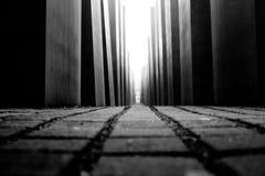 Holocaustdenkmal in Berlin Lizenzfreies Stockfoto