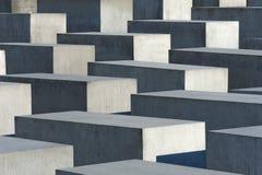 Holocaustdenkmal in Berlin Stockfotos