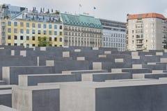 Holocaustdenkmal in Berlin Stockbild