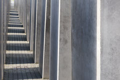 Holocaustdenkmal in Berlin Stockbilder