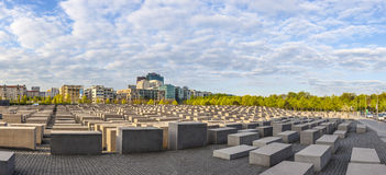 Holocaustdenkmal in Berlin Stockfoto