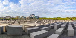 Holocaustdenkmal in Berlin Lizenzfreie Stockfotos