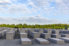Holocaustdenkmal in Berlin Stockbilder