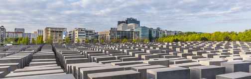 Holocaustdenkmal in Berlin Stockfotografie