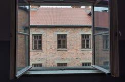 Holocauste Auschwitz commémoratif - Birkenau - Pologne photographie stock