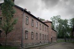 Holocauste Auschwitz commémoratif - Birkenau - Pologne photo stock