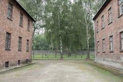 Holocauste Auschwitz commémoratif - Birkenau - Pologne images libres de droits