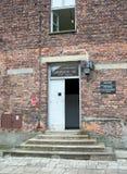Holocauste Auschwitz commémoratif - Birkenau - Pologne photos libres de droits