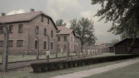 Holocauste Auschwitz commémoratif - Birkenau - Pologne image libre de droits