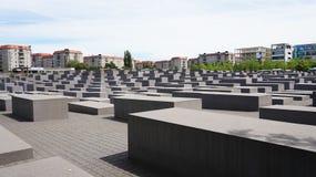 Holocaustgedenkteken als Gedenkteken aan de Moorde Joden van Europa, Berlijn, Duitsland ook wordt bekend dat Stock Afbeelding